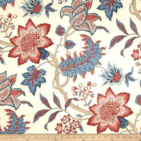 Waverly Maldives Lapis Fabric By The Yard