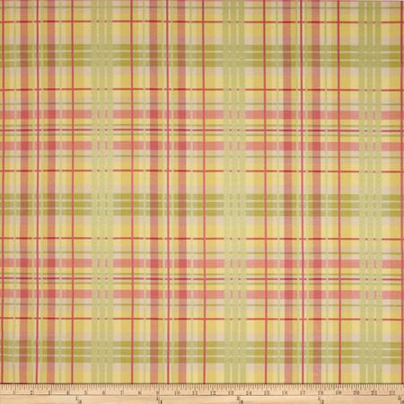 Waverly Pleasantville Plaid Jacquard Petal Fabric