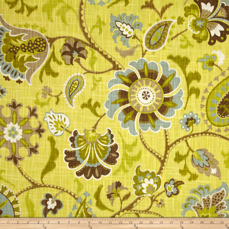 Waverly Siren Song Spa Fabric By The Yard