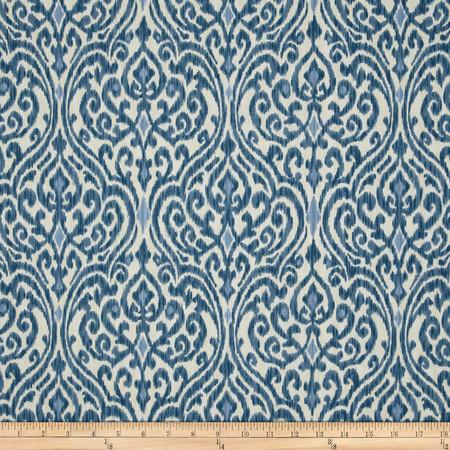 Waverly Srilanka Indigo Fabric By The Yard