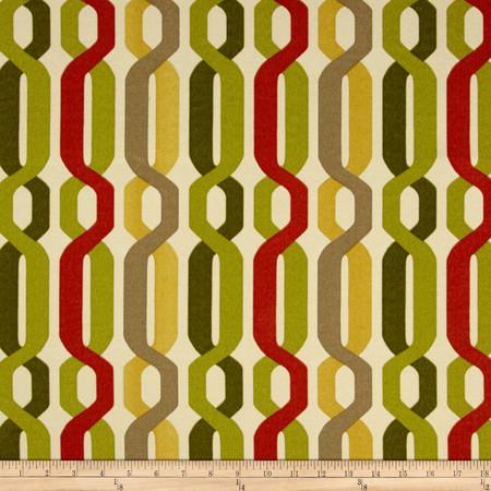Waverly Sun N Shade A New Twist Seaweed Fabric By The Yard