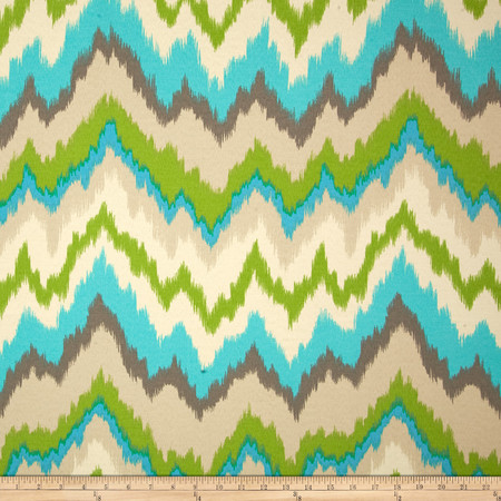 Waverly Sun N Shade Borderline Oasis Fabric By The Yard