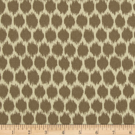 Waverly Sun N Shade Seeing Spots Sterling Fabric By The Yard