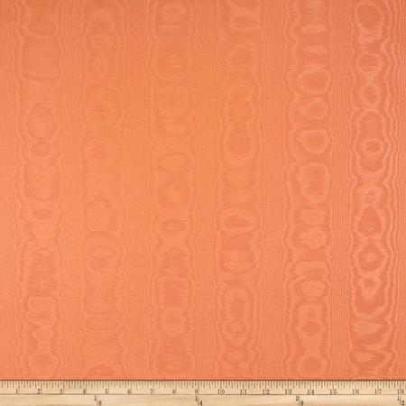 Waverly Williamsburg Palace Moire Tiger Lily Fabric