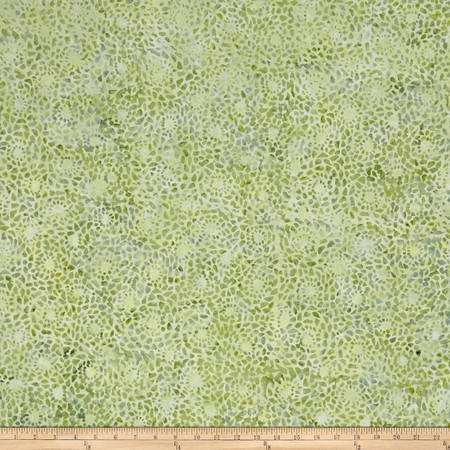 Wilmington Batiks Mosaic Green Fabric By The Yard