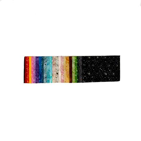 Wilmington Mini Dots Jewels Batik 2.5'' Strips