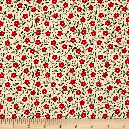 Wrapped In Joy Flower Fabric By The Yard