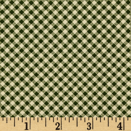 Wrapped In Joy Plaid Green Fabric By The Yard