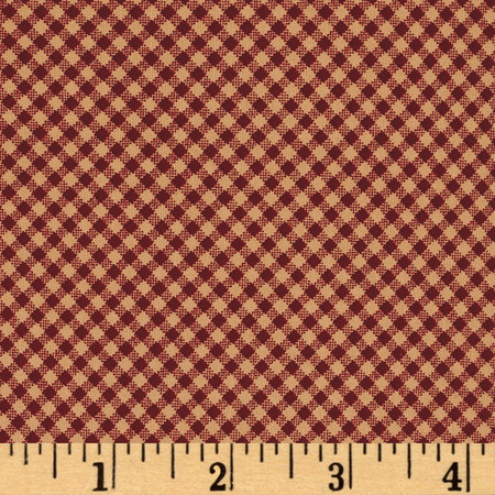 Wrapped In Joy Plaid Red Fabric By The Yard