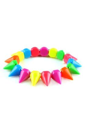 Spike Bracelet In Multi
