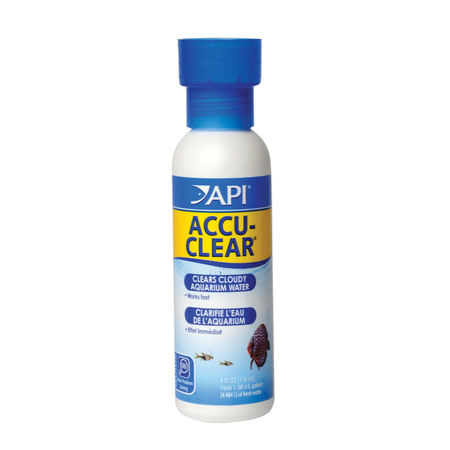 API Accu Clear Aquarium Water Clarifier  118ml