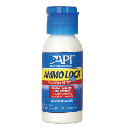 API Ammo Lock Aquarium Ammonia Neutralizer  30ml