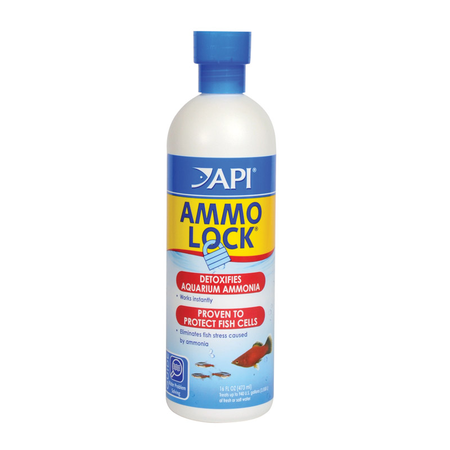 API Ammo Lock Aquarium Ammonia Neutralizer  473ml