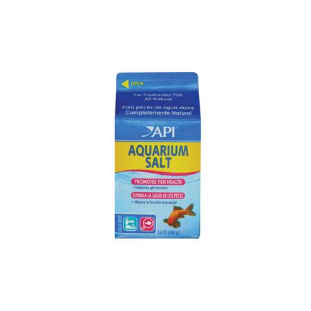 API Aquarium Salt Electrolyte Supplement for Fish  454gm