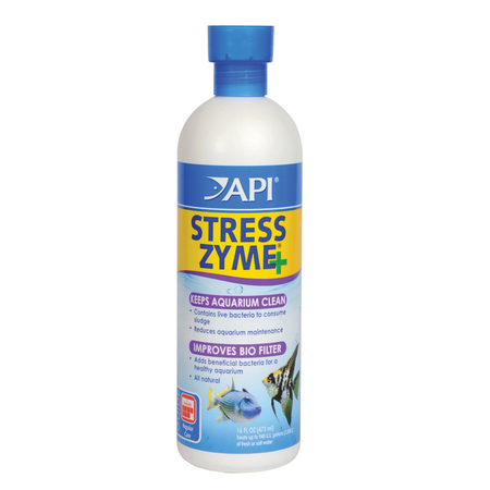 API Stress Zyme Beneficial Aquarium Bacteria  473ml