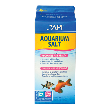 API - Aquarium Salt - Electrolyte Supplement for Fish