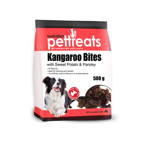 APT Kangaroo Bites with Sweet Potato and Parsley 500g