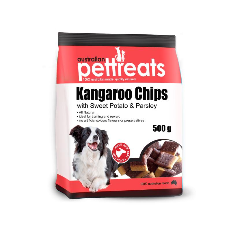 APT Kangaroo Chips with Sweet potato and Parsley - 500gm