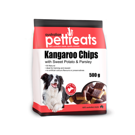 APT Kangaroo Chips with Sweet potato and Parsley - 500gm