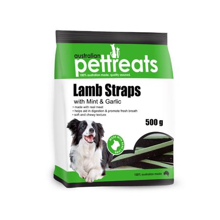 APT Lamb Straps with Mint & Garlic - 500gm