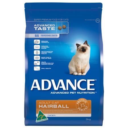 Advance Cat Hairball Chicken - 3kg