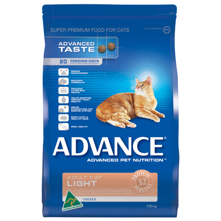 Advance Chicken Light Adult Dry Cat Food