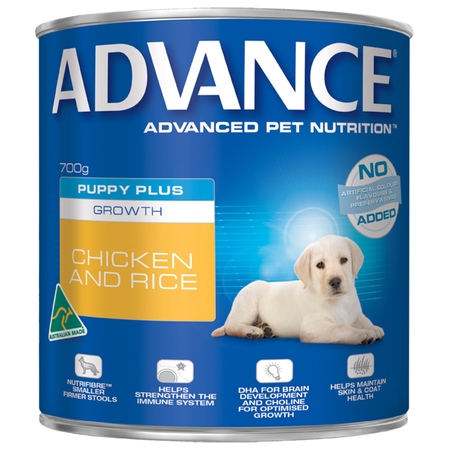 Advance Puppy Chicken and Rice Canned Puppy Food  700gm