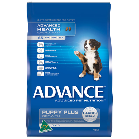 Advance Puppy Plus Large Breed Chicken Dry Puppy Food  15kg