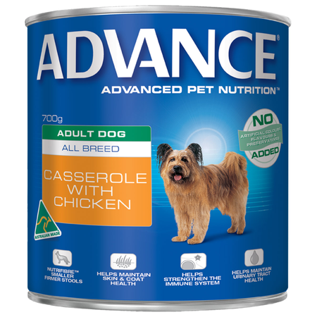 Advance - Adult All Breed - Casserole with Chicken - Canned Dog Food