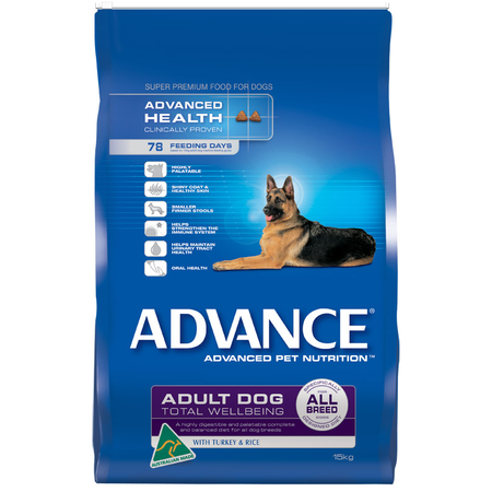 Advance - Adult All Breed - Turkey and Rice - Dry Dog Food
