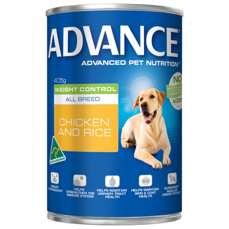 Advance - All Breed - Weight Control - Chicken and Rice - Canned Dog Food