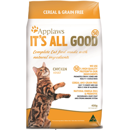 Applaws Adult Grain Free Dry Cat Food  400gm