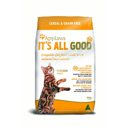 Applaws Adult Grain Free Dry Cat Food  800gm