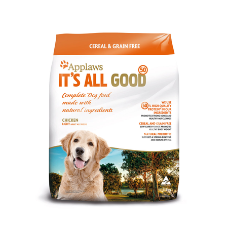 Applaws Adult Grain Free Lite Dry Dog Food  5.5kg