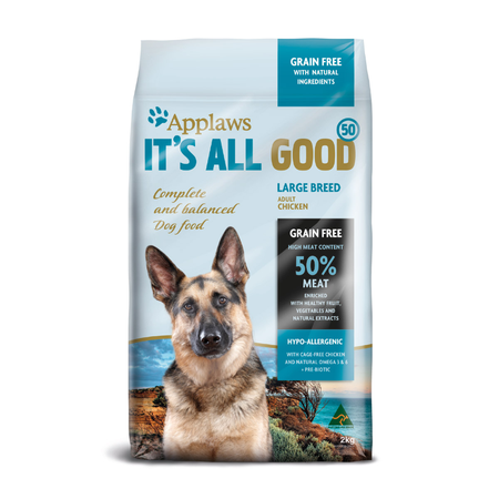 Applaws Adult Large Breed Grain Free Dry Dog Food  2kg