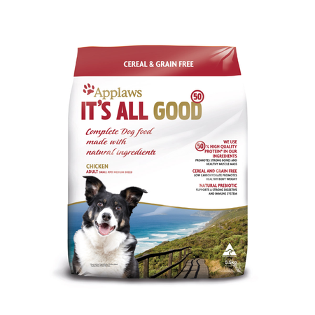 Applaws Adult Small and Medium Breed Grain Free Dry Dog Food  5.5kg