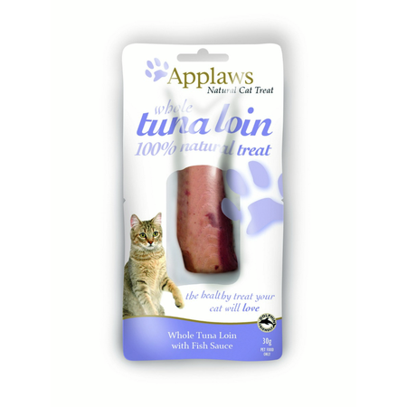 Applaws Cat Treat Tuna Loin with Fish Sauce - 30g