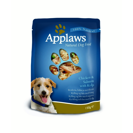 Applaws Dog Pouch Chicken with Salmon & Kelp - 150gm