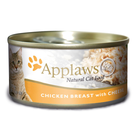 Applaws Tin Cat Chicken and Cheese - 70gm