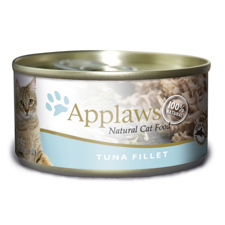 Applaws - Tuna Fillet - Canned Cat Food - 70gm