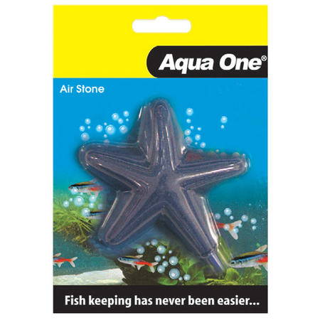 Aqua One Airstone Star - Fish Shaped