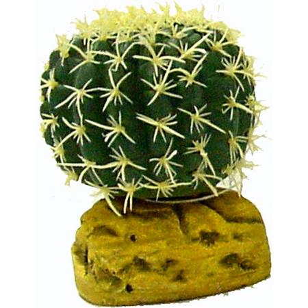 Aqua One Barrel Cactus - Sm ( 7cm diam.)
