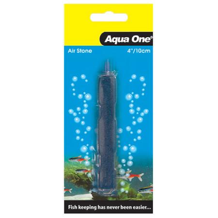 Aqua One Carded Style Aquarium Airstone Blue 4In