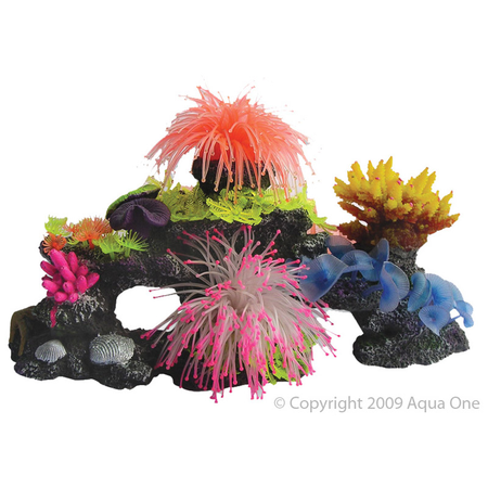 Aqua One Copi Coral Comb Aquarium Ornament  Small (40x20x20cm)