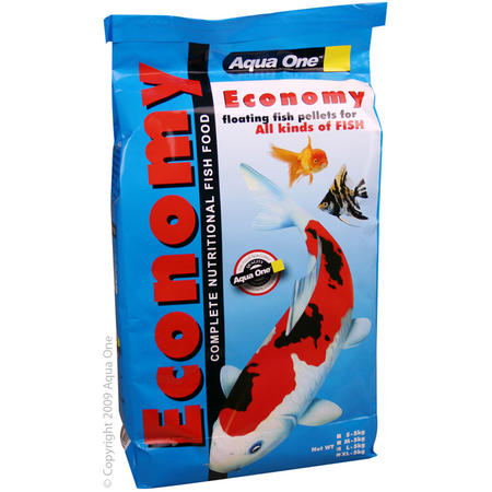 Aqua One Economy 3mm Pellets Goldfish Food 5 kg