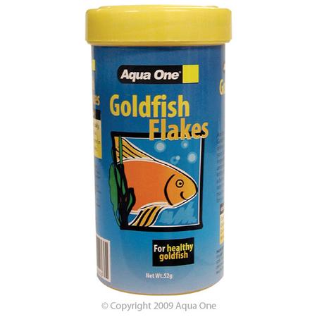 Aqua One Economy Goldfish Flakes Fish Food  52gm
