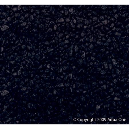 Aqua One Gravel 7mm Black 2kg