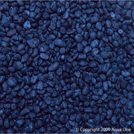 Aqua One Gravel 7mm Blue 2kg