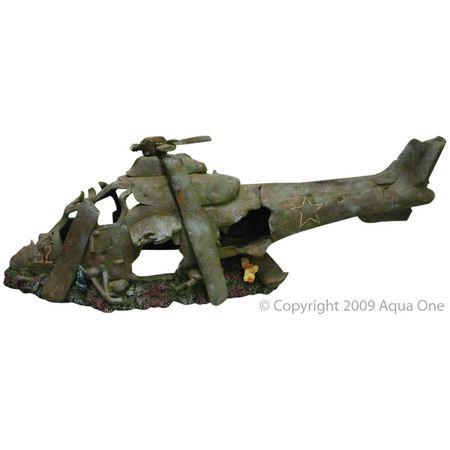 Aqua One Helicopter Ornament (79x25.5x26.5cm)