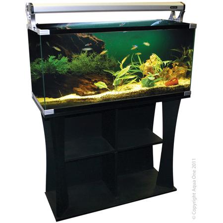 Aqua One Horizon 130L Fish Tank Starter Kit w/Stand